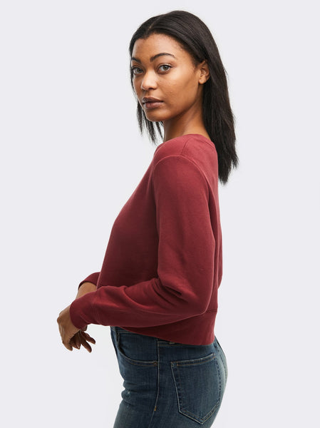 Samantha Cropped Sweatshirt Apparel