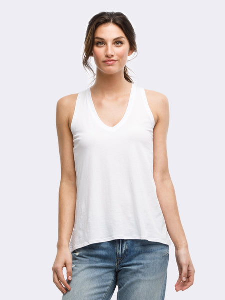 Sanchez V-Neck Slouch Tank FASHIONABLE