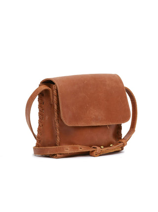 Sara Mini Whipstitch Crossbody FASHIONABLE