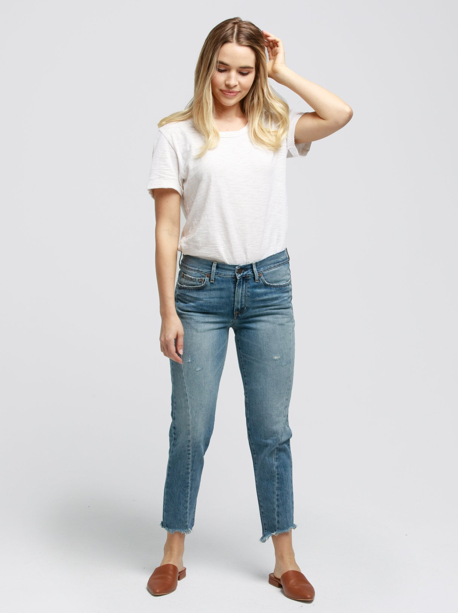 The Sandra Seam Jean