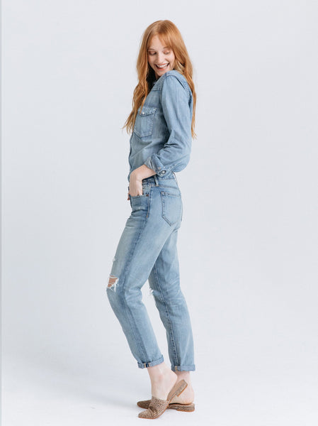 The Slouch - Gennie Wash Denim