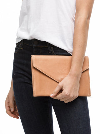 Tigist Clutch FASHIONABLE Leather