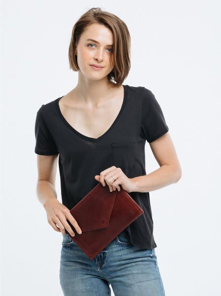 Tigist Clutch Leather