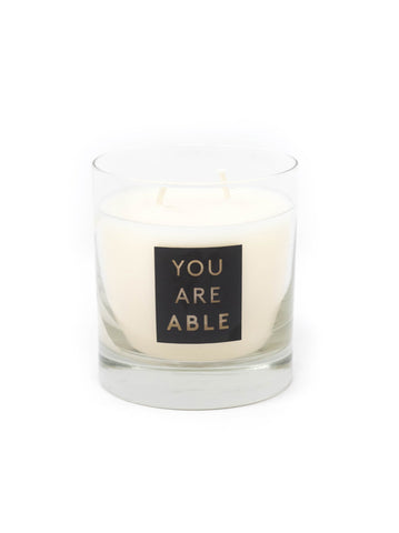 YOU ARE ABLE Candle