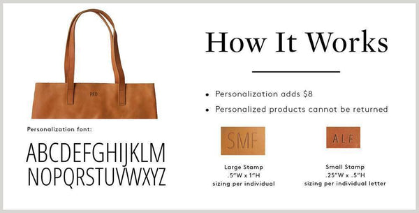 Personalization (+8.00) FASHIONABLE