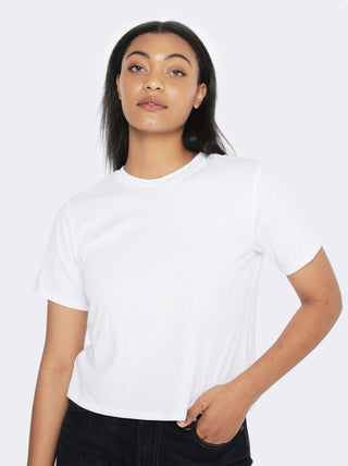 Patricia Cropped Tee FASHIONABLE