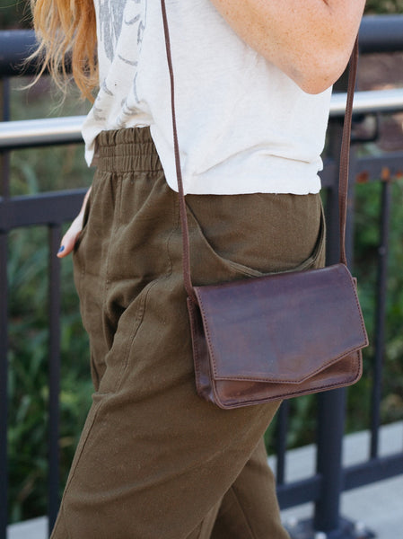 Tiny Tigist Crossbody Leather