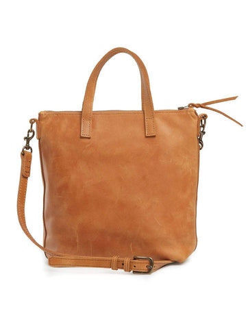 Cognac2 Abera Commuter Leather Bag