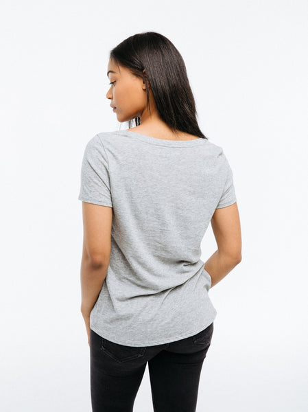 Karina V-Neck Tee Apparel