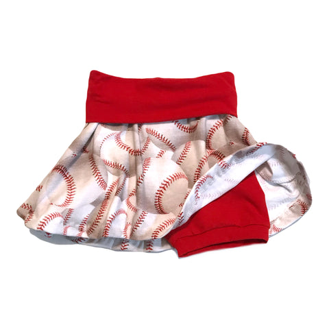 Twirly Baseball Skirt