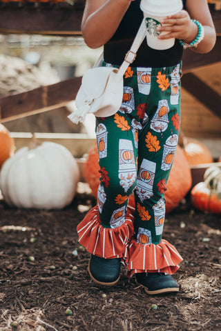 Pumpkin Latte Ruffle Pants or Leggings
