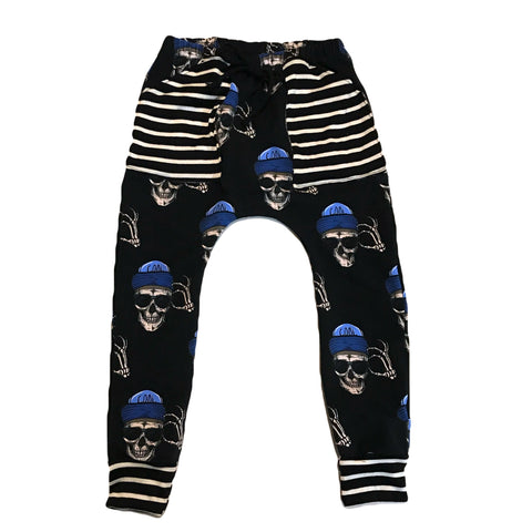 Skeleton Harem Pants