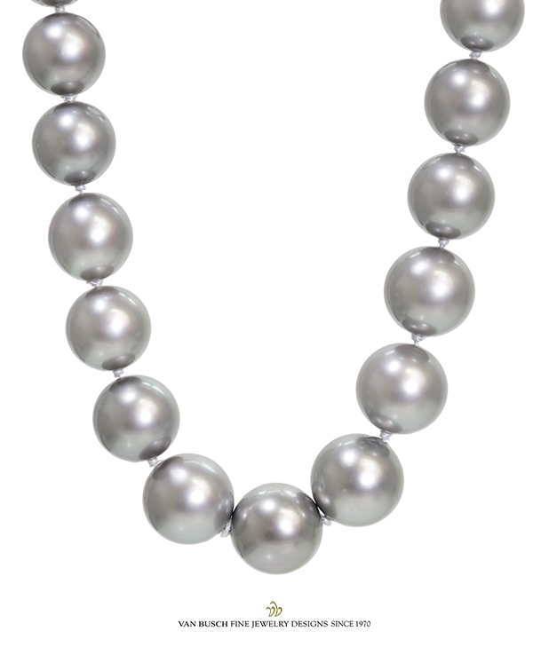 Grey Pearl Necklace