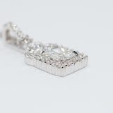 Radiant-Cut Diamond Pendant