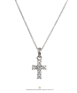 Diamond Cross Necklace