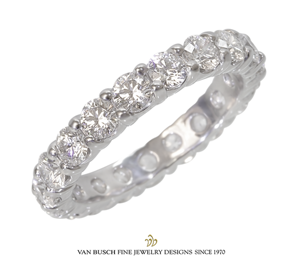 Round Diamond Eternity Ring