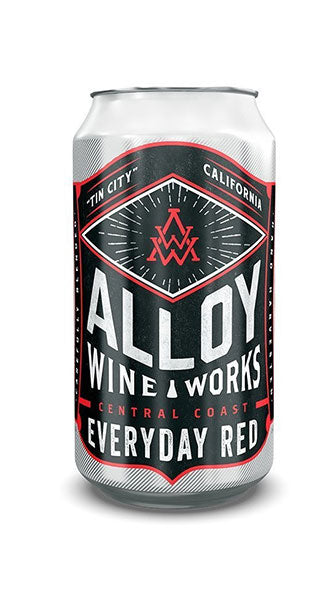 Alloy Wine Works Everyday Red (½ bottle in a can)