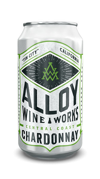 Alloy Wine Works Chardonnay (½ bottle in a can)