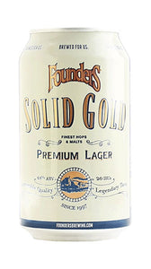Founders Solid Gold Detroit MI (6 pack)