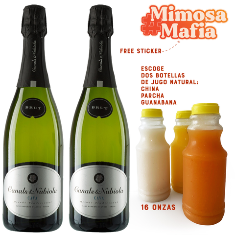 National Mimosa Day Box #MIMOSAMAFIA