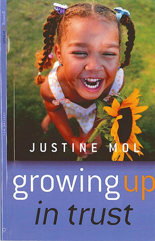 book cover growing up in trust