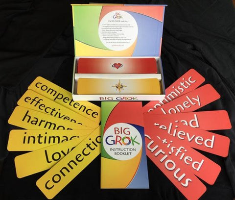 Big Grok cards for Trainers, Educators, Facilitators, Therapists