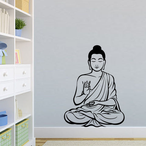 GRATUIT: Stickers Black Bouddha