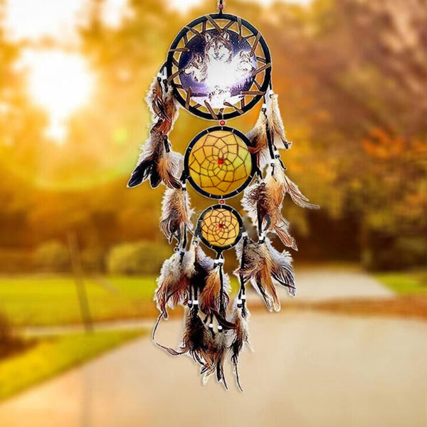 Dream Catcher Animal : Ours, Aigle, Loup