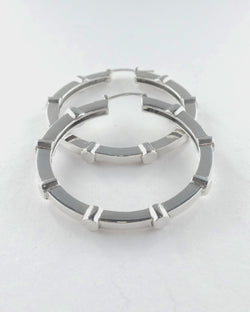 Large Stud Hoops