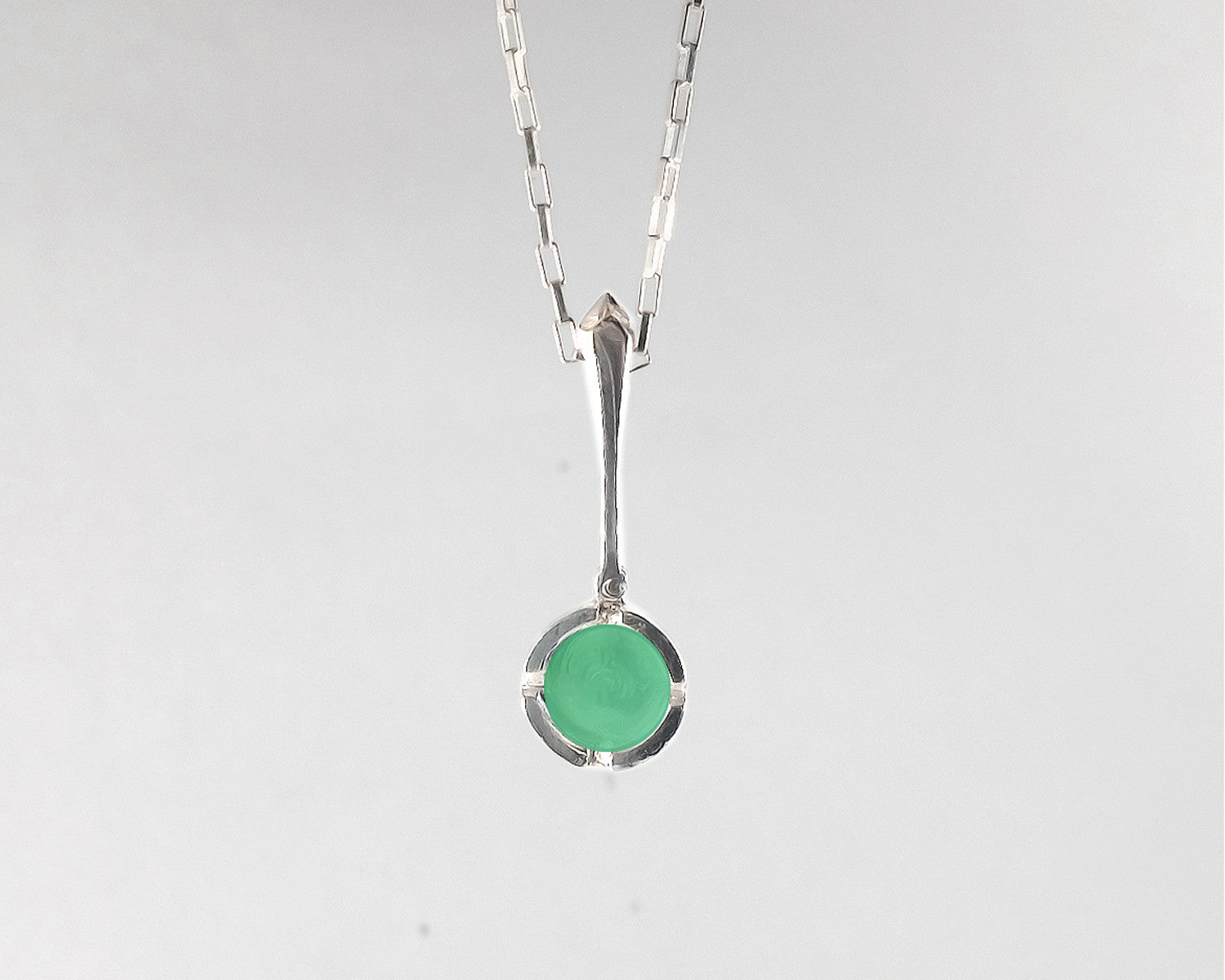 chrysoprase products necklace norbu swallow
