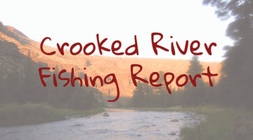 Crooked River Fishing Well At Low Flows