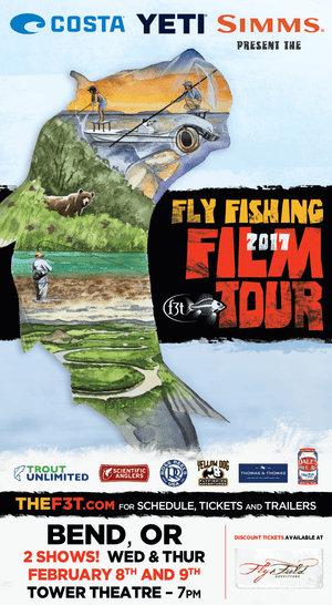 Fly Fishing Film Tour in One Week