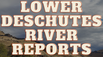 Lower Deschutes River Update