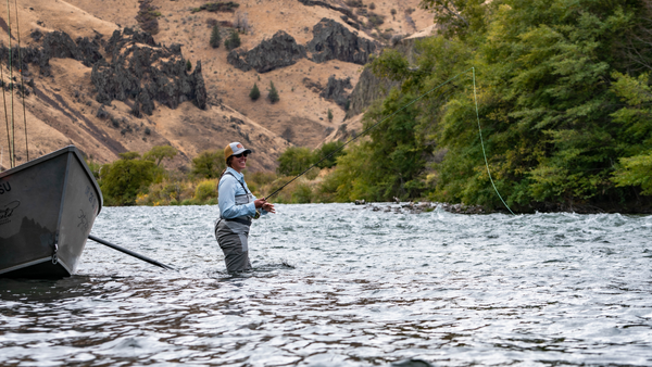 lower deschutes river lady anglers fly fishing