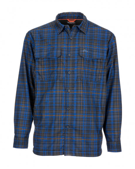 Simms Coldweather - Shirt Rich Admiral Plaid - Closeout