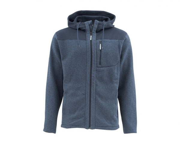 Simms Rivershed Hoody Full Zip - Closeout