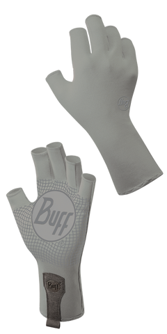Buff SPORT SERIES WATER 2 GLOVES LIGHT GREY - Fly and Field Outfitters - Online Flyfishing Shop