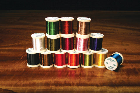 Hareline Dubbin - Danville's 4 Strand Rayon Floss - Fly and Field Outfitters - Online Flyfishing Shop