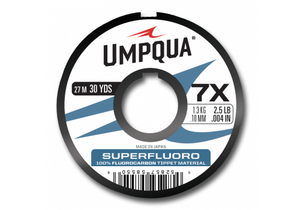Umpqua SuperFluoro Tippet - Fly and Field Outfitters - Online Flyfishing Shop