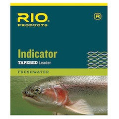 Rio Indicator Leaders - 10 foot - 1pk - Fly and Field Outfitters - Online Flyfishing Shop - 1
