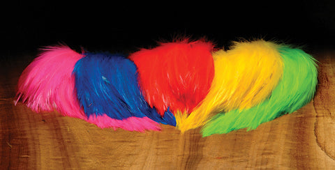 Hareline Dubbin Saltwater Neck Hackle - Fly and Field Outfitters - Online Flyfishing Shop