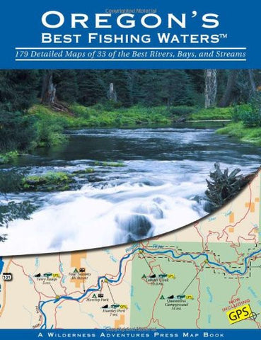 Oregon's Best Fishing Waters Paper Back - Fly and Field Outfitters - Online Flyfishing Shop