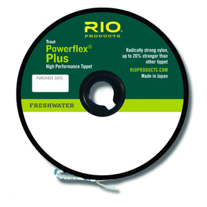 Rio Powerflex Plus Tippet - Fly and Field Outfitters - Online Flyfishing Shop