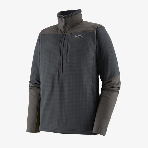 Patagonia Men's LS R1 Fitz Roy 1/4 Zip