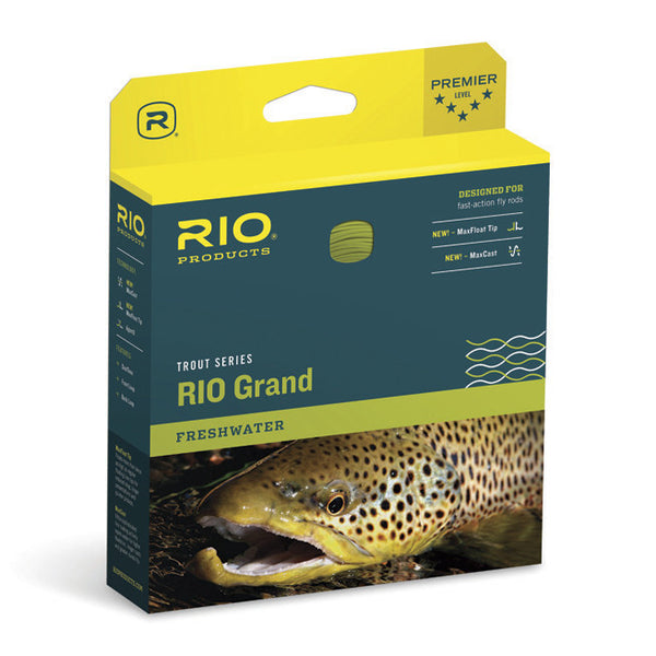 Rio Grand Fly Lines - Fly and Field Outfitters - Online Flyfishing Shop