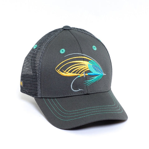 Rep Your Water Salmon Fly Hat