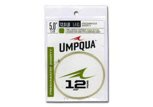 Umpqua Freshwater Shorty Leader - Fly and Field Outfitters - Online Flyfishing Shop - 1