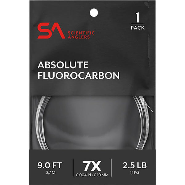 Scientific Anglers Absolute Fluorocarbon Leader 1-Pack