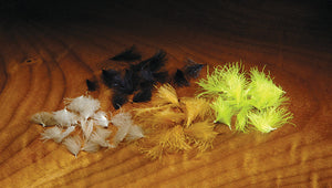 Hareline Dubbin CDC Oiler Puffs - Fly and Field Outfitters - Online Flyfishing Shop
