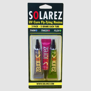 Solarez UV-Cure Fly Tie Resin 3 pack